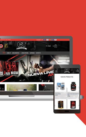 paginas compra suplementos online diseno web