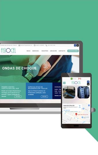 pagina kinesiologia diseno web en temuco