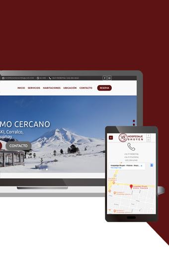 pagina empresa de hospedaje hosting desarrollo web