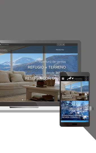 paginas montana malalcahuello diseno web